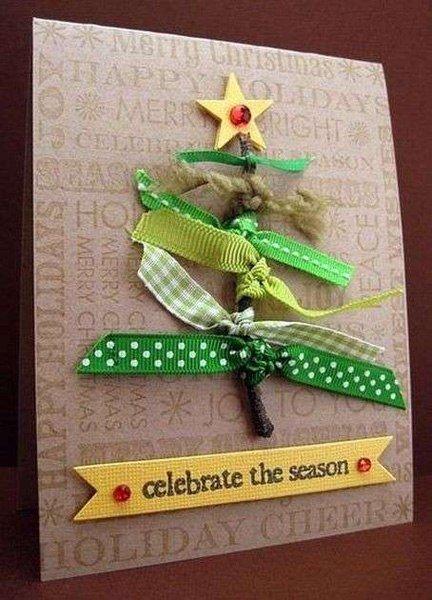 Варианты рождественских открыток, фото-5