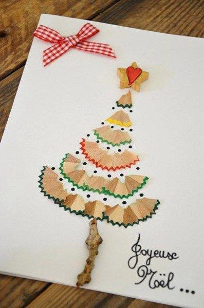 Варианты рождественских открыток, фото-1