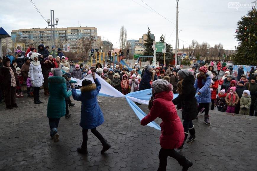 На Левобережье Каменского открыли новогоднюю елку, фото-6