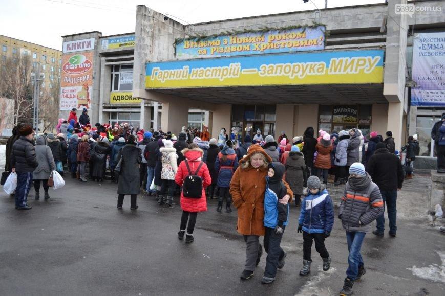 На Левобережье Каменского открыли новогоднюю елку, фото-12