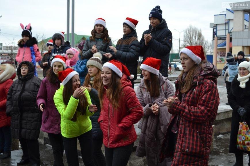На Левобережье Каменского открыли новогоднюю елку, фото-5