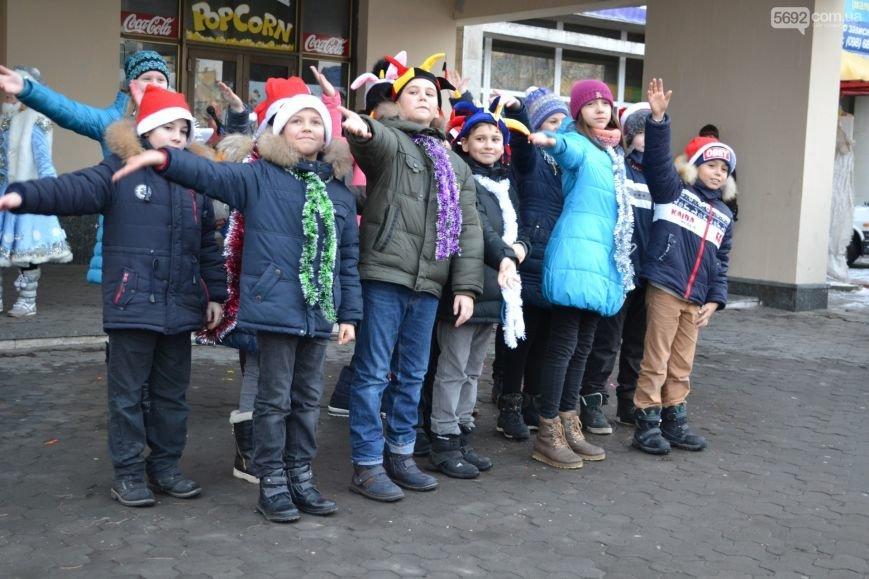 На Левобережье Каменского открыли новогоднюю елку, фото-13