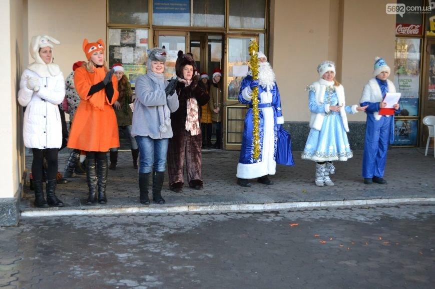 На Левобережье Каменского открыли новогоднюю елку, фото-18