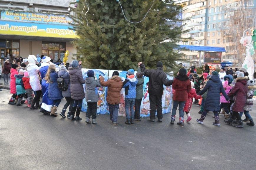 На Левобережье Каменского открыли новогоднюю елку, фото-20