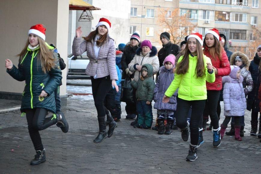 На Левобережье Каменского открыли новогоднюю елку, фото-17
