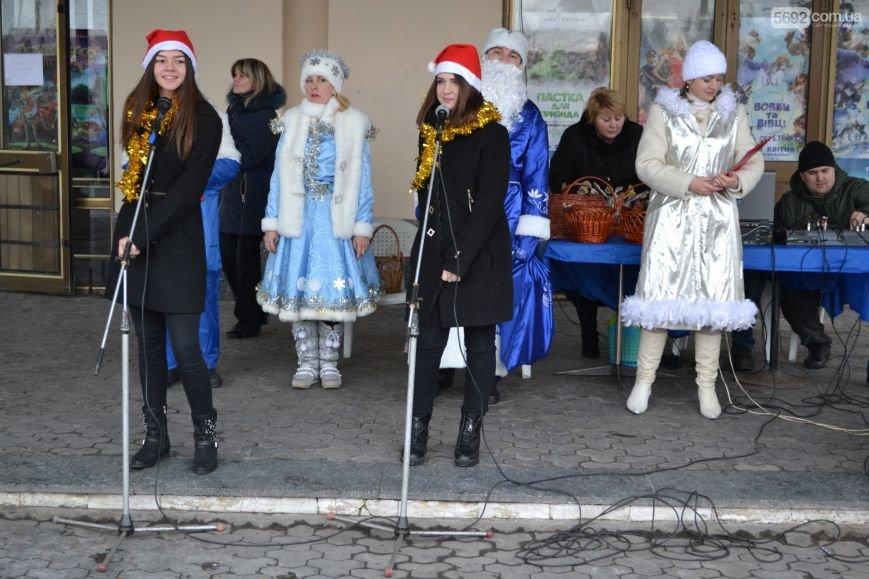 На Левобережье Каменского открыли новогоднюю елку, фото-7