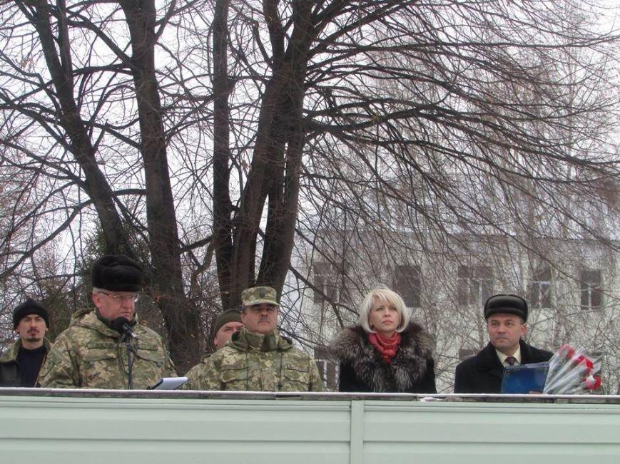Відбулася урочиста зустріч військовослужбовців, які прибули з району виконання бойових завдань, фото-7