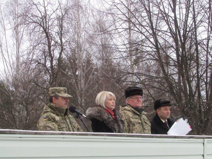 Відбулася урочиста зустріч військовослужбовців, які прибули з району виконання бойових завдань, фото-4