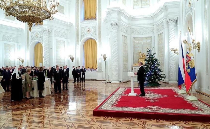Путин в Кремле поднял тост за Россию и российский народ (ФОТО), фото-1