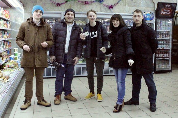 Белорусские санитары продовольствия активно штурмуют витебские универсамы: «Хватит нас травить!», фото-1