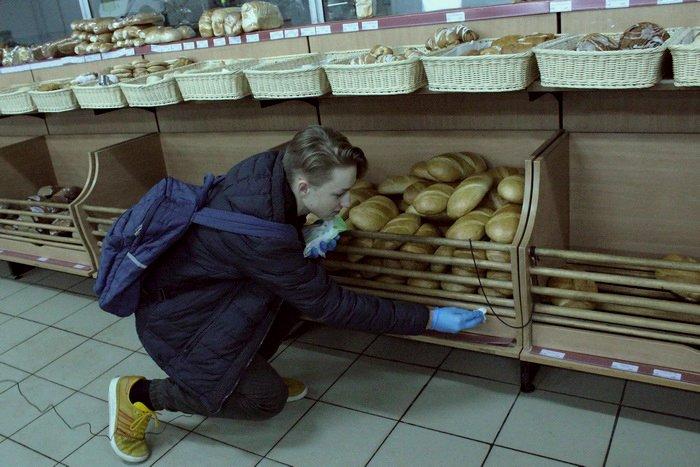 Белорусские санитары продовольствия активно штурмуют витебские универсамы: «Хватит нас травить!», фото-15