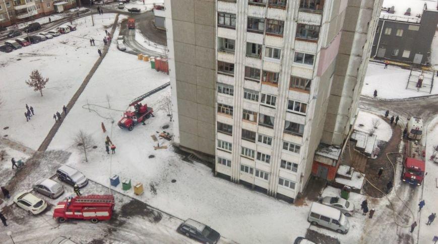 Пожар в многоэтажке на улице Молодежной в Новополоцке: погиб мужчина. Обновлено, фото-3