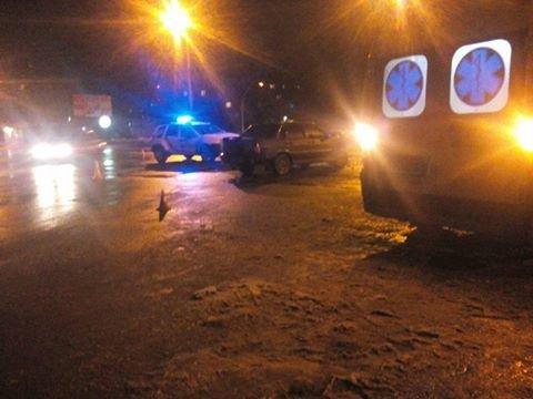 Ночью в Полтаве перевернулся микроавтобус из пассажирами (ФОТО), фото-1
