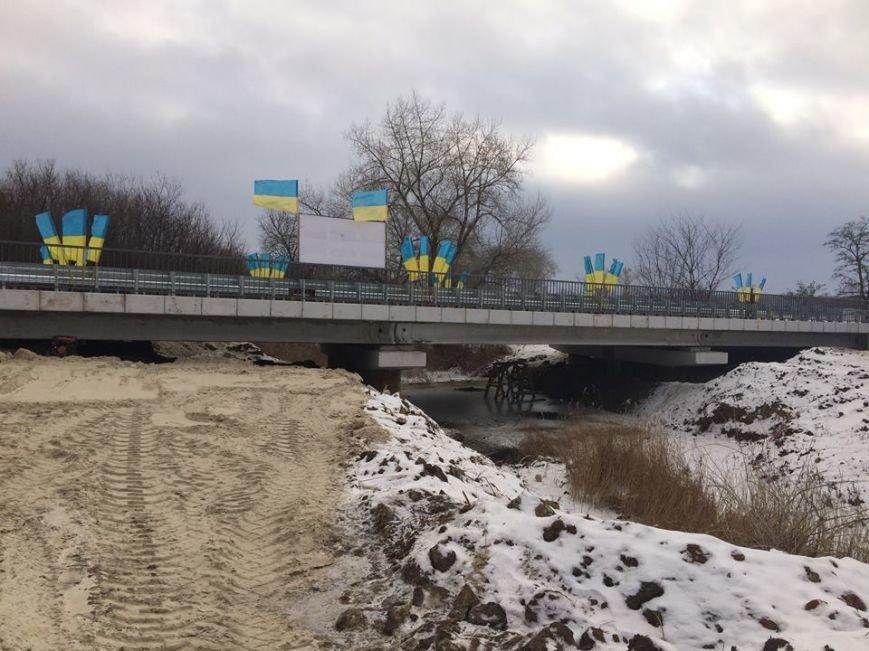В Северске восстановлен разрушенный мост, фото-2