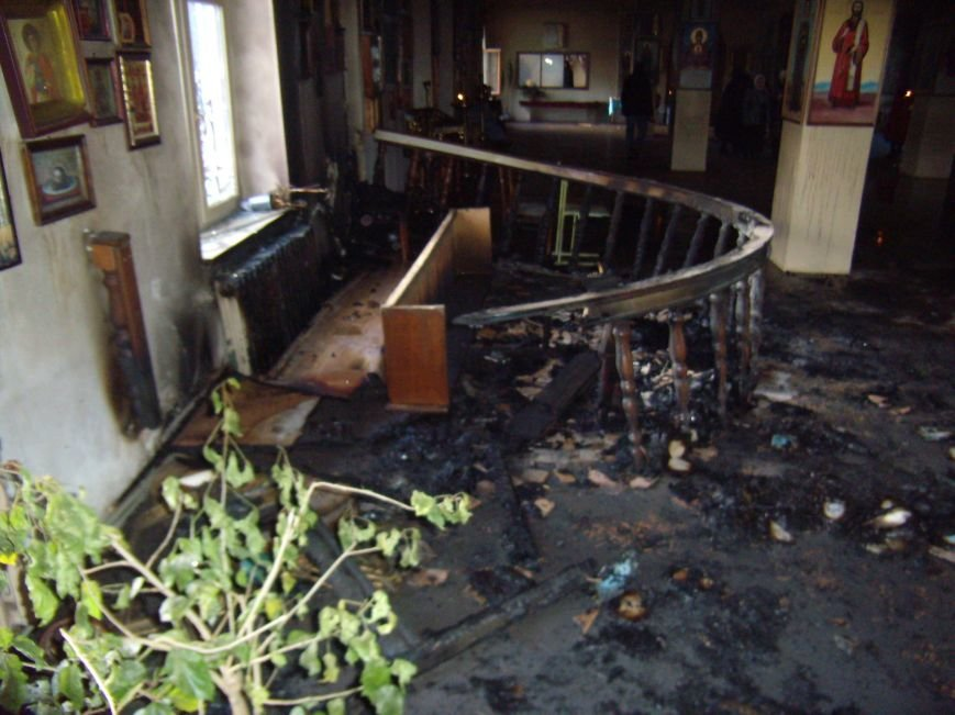 Ранним утром в Кривом Роге горела церковь (ФОТО), фото-3