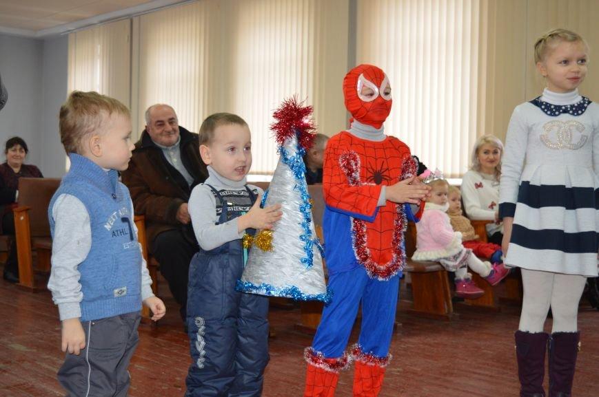 Детей правоохранителей Покровска поздравили с новогодними праздниками, фото-4