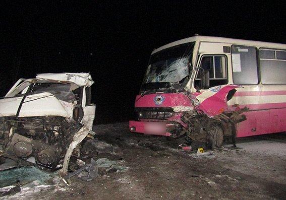 ДТП на Хмельниччині:2 загиблих, 5 поранених, фото-1