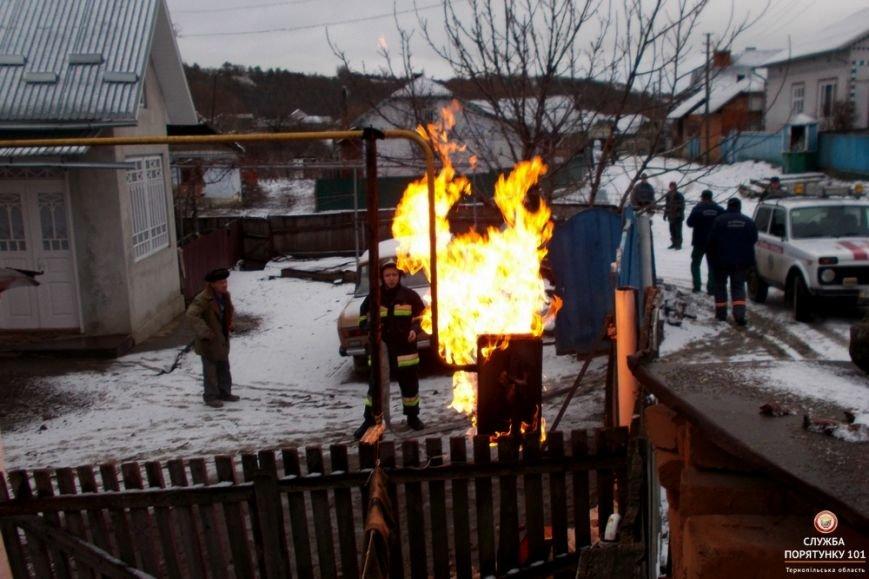 На Тернопільщини через пожежу ледь не сталося трагедії, фото-2