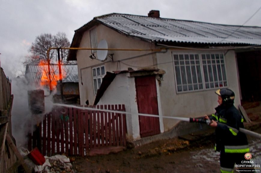 На Тернопільщини через пожежу ледь не сталося трагедії, фото-3