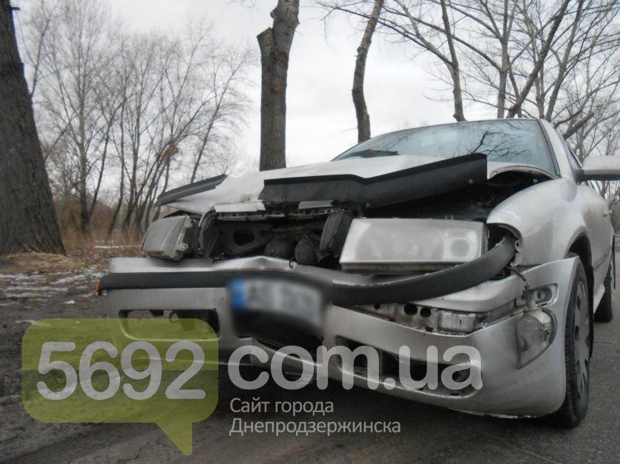 В Каменском в ДТП на проспекте Металлургов автомобиль врезался в дерево, фото-3