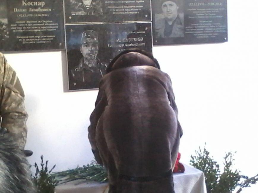 В Кривом Роге открыли мемориальную доску Александру Семенищенкову, погибшему под Иловайском (ФОТО), фото-7
