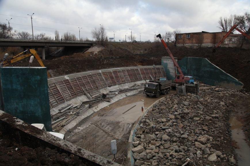 В Кривом Роге закончилось бетонирование шлюза новой дамбы, которая остановит подтопление домов на Гданцевке (ФОТО), фото-4