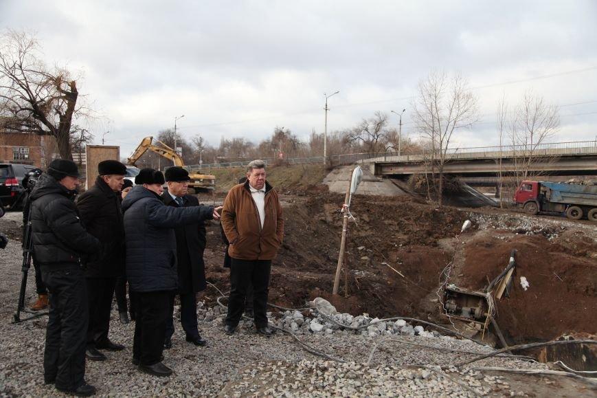 В Кривом Роге закончилось бетонирование шлюза новой дамбы, которая остановит подтопление домов на Гданцевке (ФОТО), фото-1