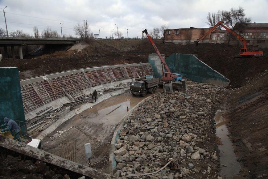 В Кривом Роге закончилось бетонирование шлюза новой дамбы, которая остановит подтопление домов на Гданцевке (ФОТО), фото-3