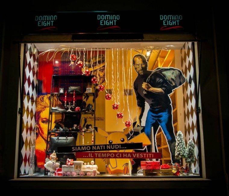 В Ялте выбрали лучшую Новогоднюю витрину, фото-1
