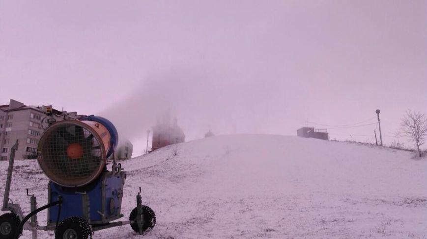 У Тернополі запустили снігову гармату (фото), фото-3