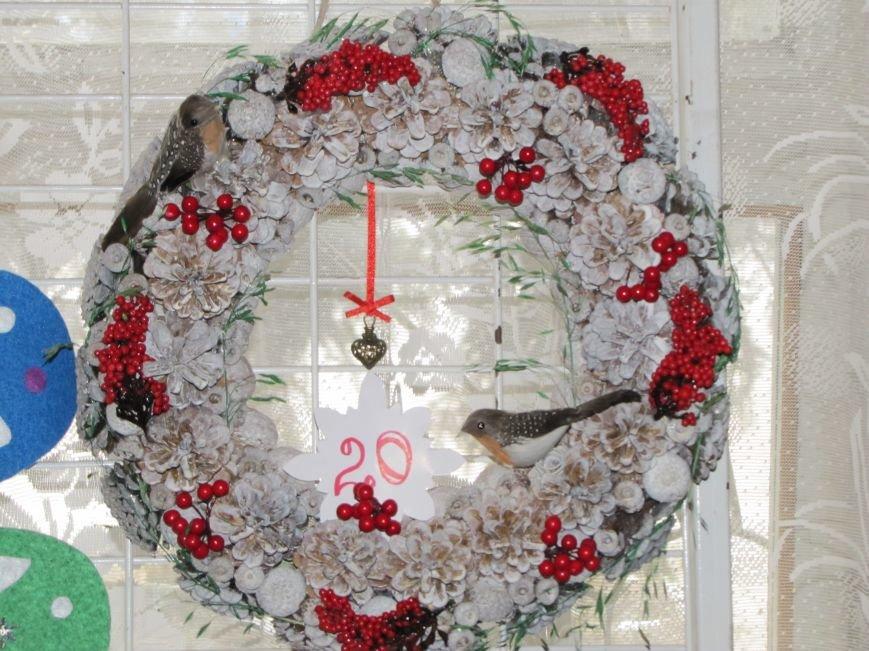 Определились три претендента на лучший рождественский венок  (фото), фото-2
