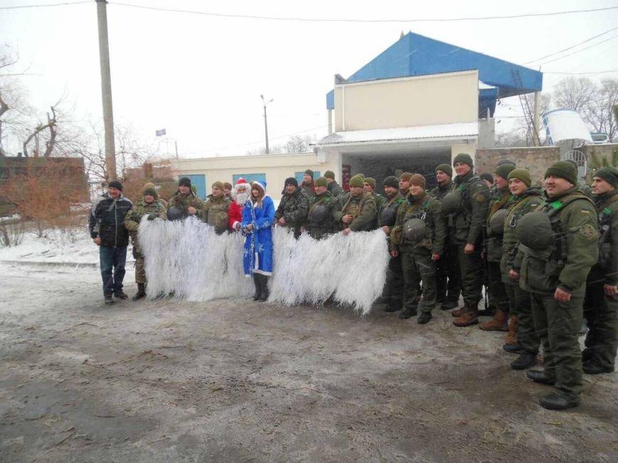 Криворожский Дед Мороз привез бойцам в зону АТО  подарки к Новому году (ФОТО), фото-4