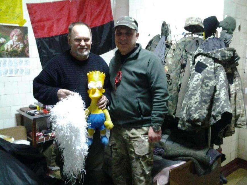 Криворожский Дед Мороз привез бойцам в зону АТО  подарки к Новому году (ФОТО), фото-17