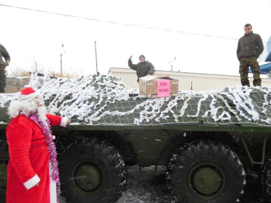Криворожский Дед Мороз привез бойцам в зону АТО  подарки к Новому году (ФОТО), фото-3