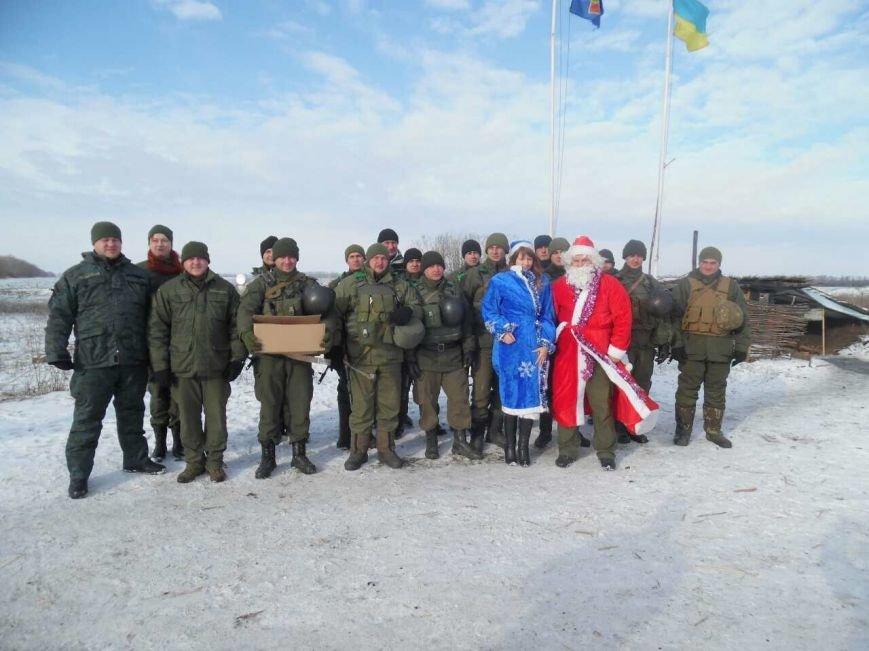 Криворожский Дед Мороз привез бойцам в зону АТО  подарки к Новому году (ФОТО), фото-9