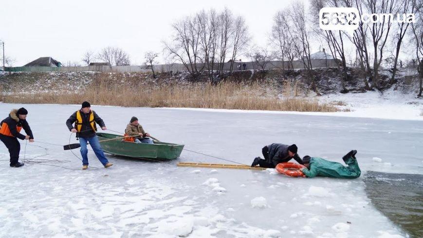 провалились под лед2