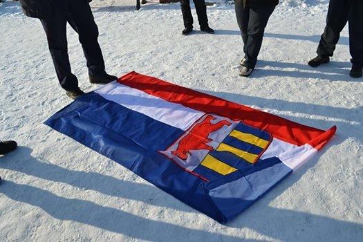 Сепаратистів, які влаштували провокацію біля Закарпатської ОДА, спіймали: фото, фото-1