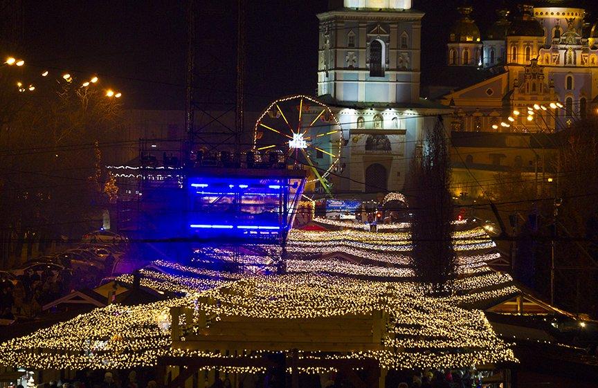 На Софии встретили Новый год (ФОТОРЕПОРТАЖ), фото-20