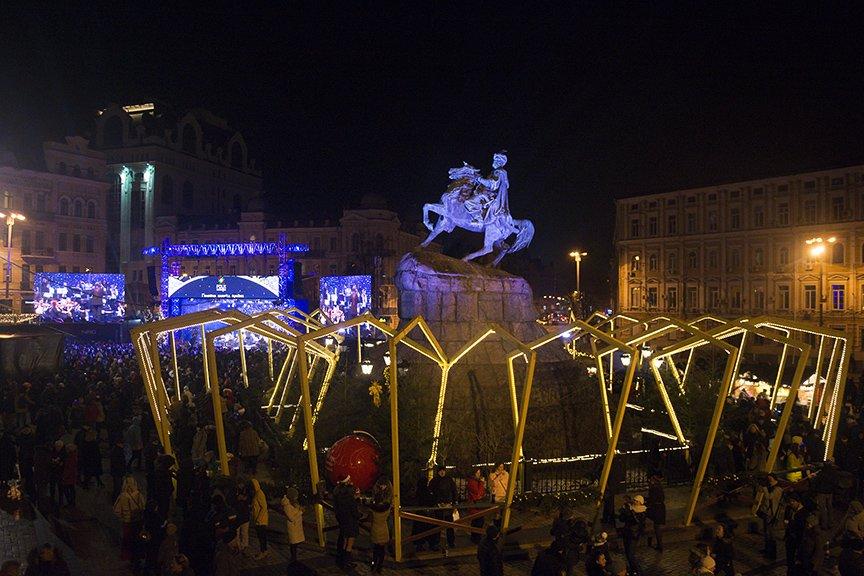 На Софии встретили Новый год (ФОТОРЕПОРТАЖ), фото-7