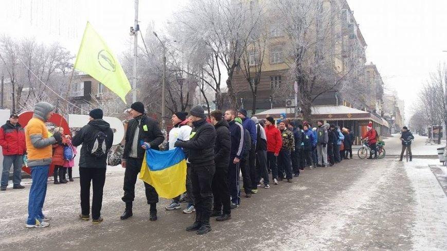 "Запорожцы провели ""трезвую"" пробежку, - ФОТО, ВИДЕО, фото-6"