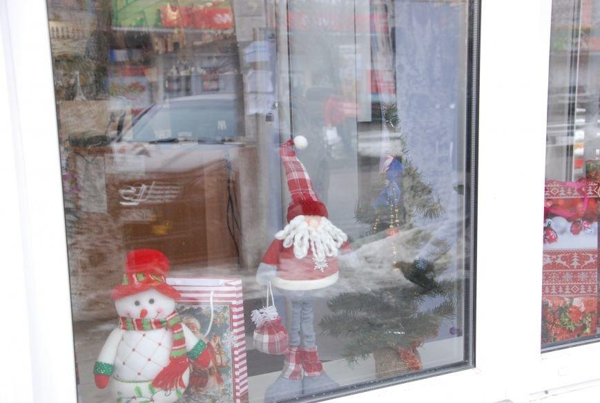«Новогодние окна» Бердянска (ФОТОРЕПОРТАЖ), фото-4