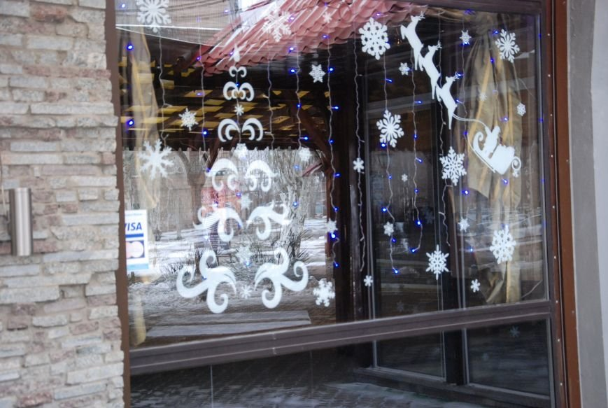 «Новогодние окна» Бердянска (ФОТОРЕПОРТАЖ), фото-14