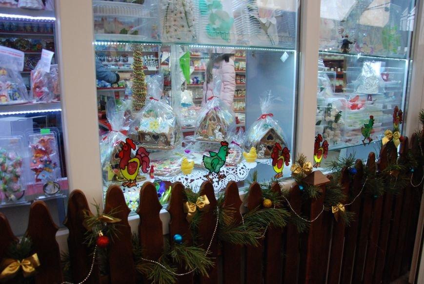 «Новогодние окна» Бердянска (ФОТОРЕПОРТАЖ), фото-2