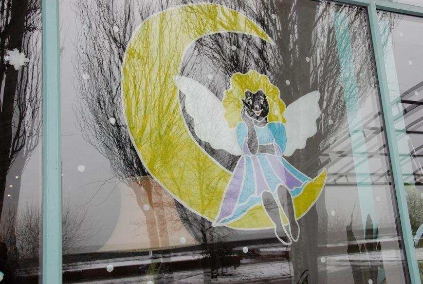 «Новогодние окна» Бердянска (ФОТОРЕПОРТАЖ), фото-8