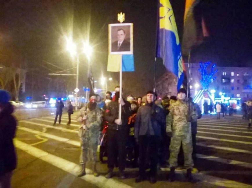 В Херсоне прошло «безфакельное» шествие в честь дня рождения национального деятеля Степана Бандеры (фото), фото-1
