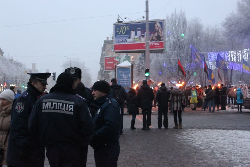 В Запорожье факельным шествием отметили День рождения Бандеры, - ФОТОРЕПОРТАЖ, фото-12