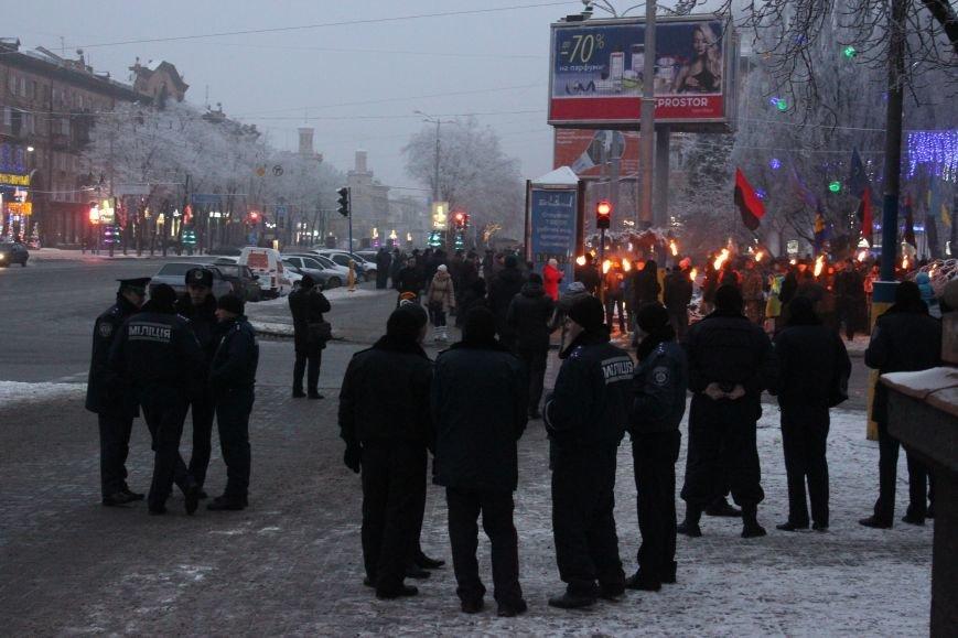 В Запорожье факельным шествием отметили День рождения Бандеры, - ФОТОРЕПОРТАЖ, фото-11