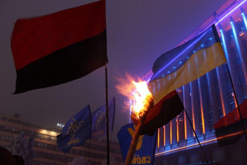 В Запорожье факельным шествием отметили День рождения Бандеры, - ФОТОРЕПОРТАЖ, фото-22