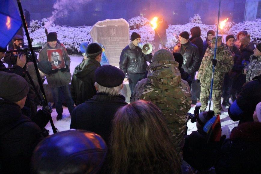 В Запорожье факельным шествием отметили День рождения Бандеры, - ФОТОРЕПОРТАЖ, фото-23