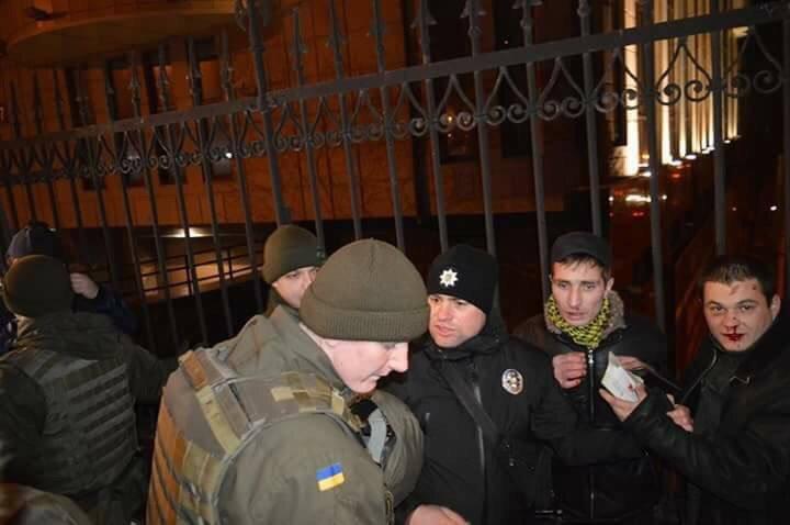 Одесский марш националистов не обошелся без потасовки (ВИДЕО), фото-1